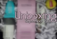[UNBOXING] LivBox September 2015