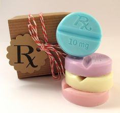 SOAP. Pastel Chill Pills. Cabernet Grape. Vegan Glycerin - I LOVE this gift idea!