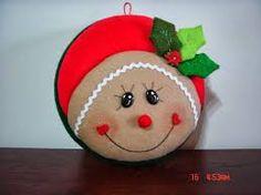 Mogollas Navideñas Christmas Fabric, Felt Christmas, Country Christmas, Christmas Angels, Christmas Snowman, Christmas Themes, Felt Ornaments, Holiday Ornaments, Holiday Crafts
