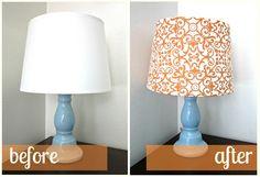 DIY Lamp Shade!!!!!