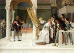 "Picture of the Day! Alexandre Cabanel (1823-1889) ""Merchant of Venice"", Oil on canvas, 1881. To see more works by this artist please visit us at: http://www.artrenewal.org/pages/artist.php?artistid=5  - Share your favorite old master works with us on our Pinterest page! http://www.pinterest.com/ArtRenewal/share-your-favorite-old-master-works/"