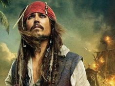 Johnny Depp vai lançar disco de músicas de piratas com Iggy Pop, Patti Smith e Tom Waits