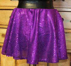 Lightweight sparkle sequin Running skirt spandex lycra Muffin top free derby girl tough mudder polar plunge boston marathon patriotic