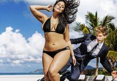 Plus-Size-Model Ashley Graham zeigt ihre Kurven in der Sports Illustrated