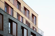 Building Layout, Building Facade, Pere Lachaise Cemetery, Paris Climate, Timber Panelling, Urban Fabric, Concrete Structure, Living Environment, Architecture Office