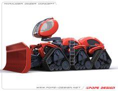 Marauder Dozer Concept on Behance