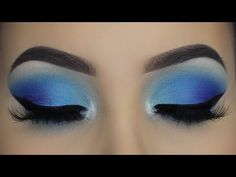 20 Beautiful Makeup Tutorials for Blue Eyes - Best Make-Up Halo Eye Makeup, Makeup Geek Eyeshadow, Dramatic Eye Makeup, Purple Eye Makeup, Eye Makeup Steps, Smokey Eye Makeup Tutorial, Hooded Eye Makeup, Glitter Eye Makeup, Colorful Eye Makeup