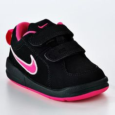 Nike Pico 4 Athletic Shoes - Toddler Girls. I love the pink and black for a7e1e80fb