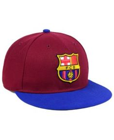 Fan Ink Fc Barcelona Epl Fi Fitted Cap - Maroon Blue 7 2f30b87994b