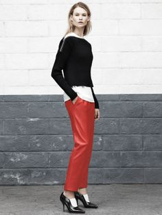 Alexander Wang - red pants, please!!