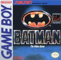Batman: The Video Game - Nintendo Game Boy - Games Database Gameboy Games, Gamecube Games, Nintendo Sega, Nintendo Games, Game Boy, Classic Video Games, Retro Video Games, Playstation, Xbox