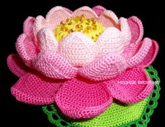 Кувшинка крючком - Crochet Modnoe Vyazanie
