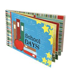 """Quick Quotes Back to School """"School Days"""" album Scrapbook Co 8.5"""" x  6.5"""" NEW #QuickQuotes http://stores.ebay.com/A-Thrifty-Deal-Men-Women-Kids-Home"""