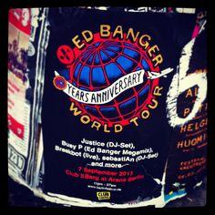 Ed Banger World Tour - Berlin http://karten.fm/tag/ed-banger/