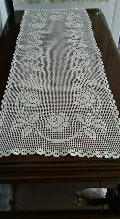 The Crucifixion Jesus Christ Wallhanging Vintage Thread Crochet Pattern Crochet Table Runner Pattern, Crochet Lace Edging, Crochet Tablecloth, Thread Crochet, Crochet Doilies, Filet Crochet Charts, Free Crochet, Knit Crochet, Crochet Designs