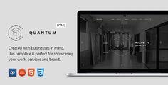 Quantum - Responsive Business WordPress Template