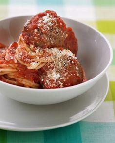 Spaghetti and Meatballs #italian #recipes