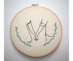 broderie - amoureux