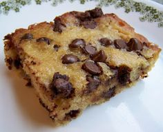 Tried-and-True cooking with Heidi: Sneaky Moms Chocolate Chip Zucchini Bars
