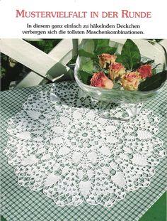 Round napkin