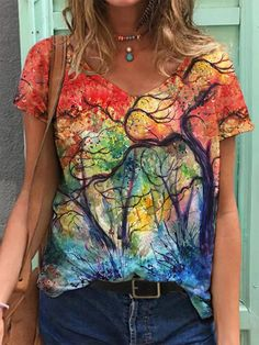 Shirts & Tops, Loose Shirts, Loose Tops, Casual Shirts, Women's Tops, Womens Fashion Online, Latest Fashion For Women, Top Streetwear, Shirt Bluse