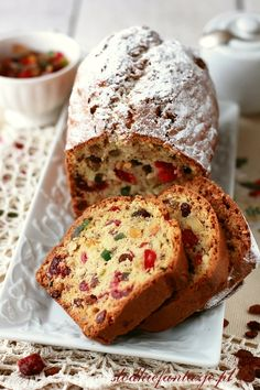 Sweet Fantasies English Fruit cake recipe by my grandmother. In Polish Tea Cakes, Food Cakes, Cupcake Cakes, Fruit Cakes, Cupcakes, English Fruit Cake Recipe, Fruit Recipes, Cooking Recipes, Gateaux Cake
