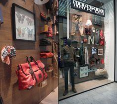 Napapijri Autumn collection '14 windows by oggettispeciali