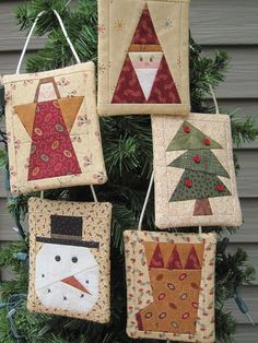 Perfect Wrap - Ornaments with a Pocket to hold a gift card E-PATTERN PDF