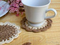 Coasters em Crochê NaniCountry