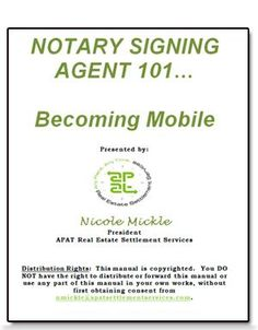 How to Become a Notary | Become a Notary Public | Notary Public Training - Find The Insider Secrets To Becoming A Successful Mobile Signing Agent.  www.digitalbookshops.com  #Employment  #Job #JobSkill  #Training