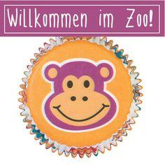 Muffinförmchen mit hübschen Tier-Motiven. Ideal für Cupcakes zum Kindergeburtstag. #Muffinförmchen
