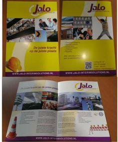 Teksten voor de brochure Jalo Interim Solutions, i.s.m. KC Communicatie