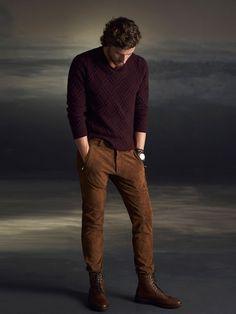 tendencias-en-ropa-para-hombre-otono-invierno-2015-2016-TENDENCIAS-COLOR-borgoña-tierra