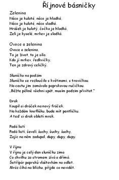 básničky School Songs, Kindergarten, Kids, Young Children, Boys, Kindergartens, Children, Preschool, Boy Babies