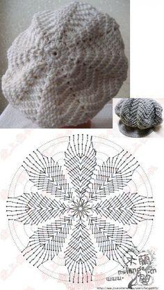CROCHET PATTERN No. The Abby crochet beret pattern (Toddler, Child and Adult sizes) PDF pattern hat, spring beret pattern, pattern hat Crochet Beret Pattern, Bonnet Crochet, Gilet Crochet, Crochet Beanie Hat, Crochet Cap, Crochet Motif, Diy Crochet, Crochet Crafts, Crochet Stitches