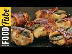 Gennaro's Chicken Bites with Bacon & Sage - YouTube
