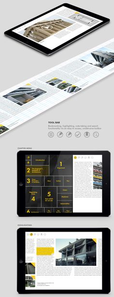 Le Corbusier eBook on Behance