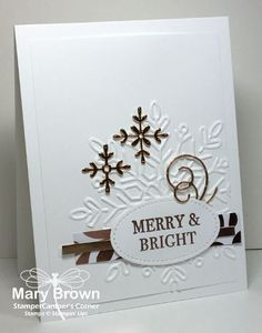 Time again for another Create with Connie and Mary Design Team Saturday Blog Hop and now we are going to start focusing on CHRISTMAS! First up, our theme is Mailable (non-lumpy) Christmas cards! …