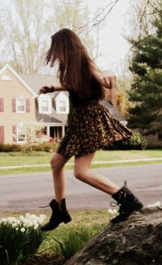 Something Id definantly do... (Boots and a dress :P)