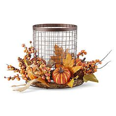jcp | JCPenney Home™ Harvest Metal Candle Holder