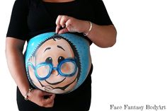 Bellypaint by Face Fantasy  Baby boy bellypainting
