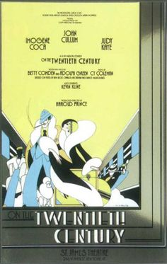 Oscar Jaffee- On The Twentieth Century   Broadway Poster , 1978 Masterprint at AllPosters.com