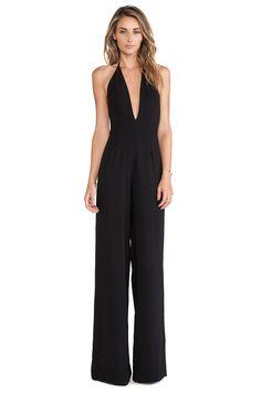 NWT Cache SEXY Black Beaded Chiffon Evening Dress Jumpsuit Formal Club14 XL | Beaded Chiffon
