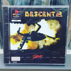 You'd like this one by xynthymr_games #playstation1 #microhobbit (o) http://ift.tt/1MAFlhJ copy of #Descent2 (PAL) for #PS1. #PlayStation #PlayStation1 #PSone #PlayStationCollector #PlayStationCollecting #SealedVideoGameCollector #VideoGameCollector #SealedGame #FactorySealed #SealedGameHeaven #SGH #Descent #Interplay