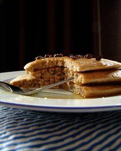 Pancakes à l'avoine et bananes (végétaliennes) - Rose Madeleine