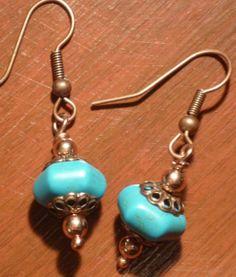 Viking Knitting Jewelry Designs | Design By Misa - Unique Handmade Jewelry: Turquoise Set - Viking Knit ...