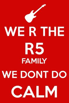 #R5 family the question of the day is.... what is your favorite R5 song?