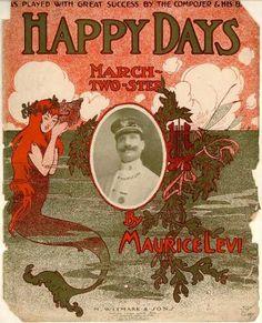 Sheet Music - Happy days