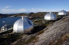 (93) Naturaleza 10 - HOTEL ARCTIC ILULISSAT. Groenlandia - El Hotel Arctic se encuentra justo en el borde del fiordo Ilulissat en Groenlandia, una maravilla del mundo que está en la Lista del Patrimonio Mundial de la UNESCO y muy al alcance de todos los que quieran una experiencia inolvidable. Cuenta con 4 estrellas y  con un centro de conferencias de 5 estrellas.
