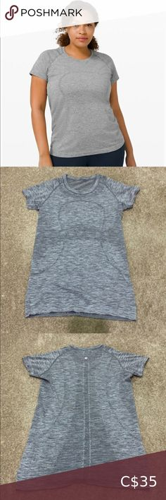 Swiftly Tech Short Sleeve Barely worn. Size 8 but fits small, fits more like a 6. lululemon athletica Tops Tees - Short Sleeve Lululemon Shirts, Diane Von Furstenberg, Cotton Tee, Lululemon Athletica, Tory Burch, Two Piece Skirt Set, Tech, Sleeves, Closet